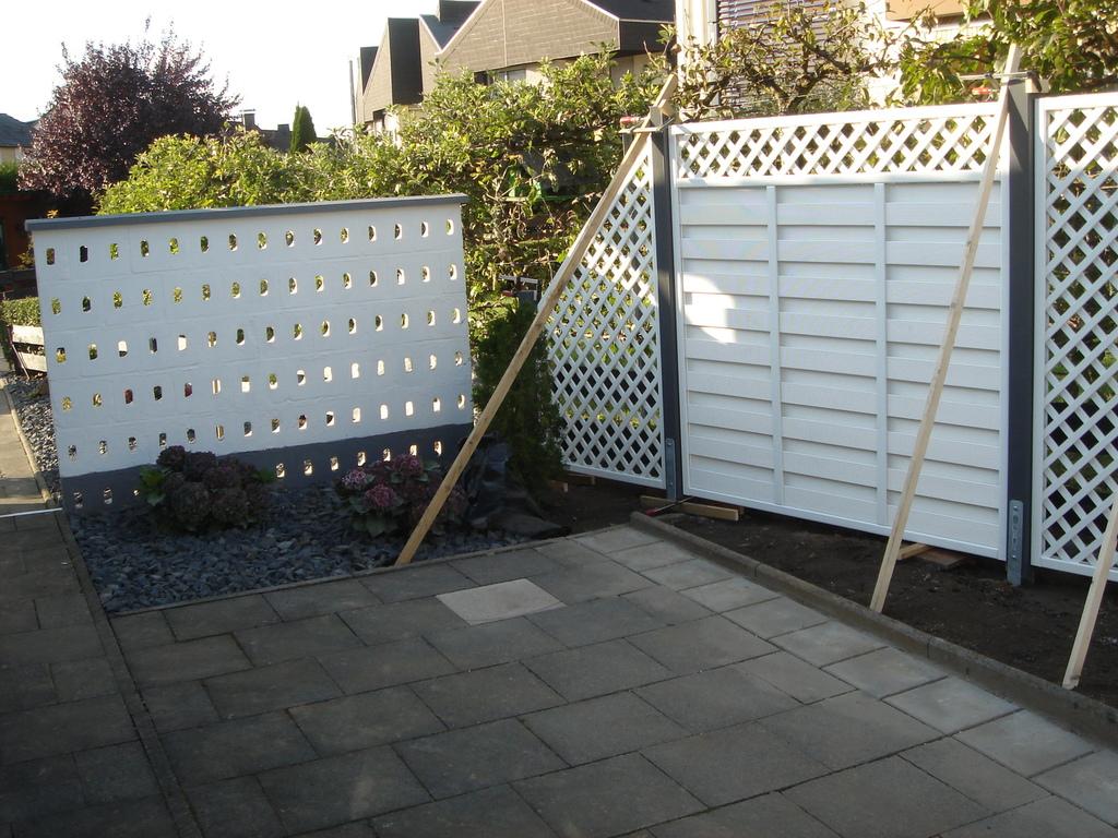 Im und um Haus und Garten Sichtschutzzaun
