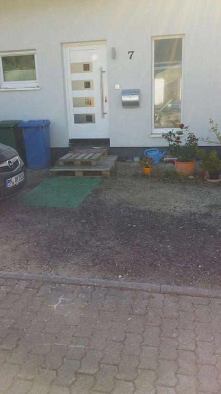 Im Und Um Haus Und Garten Pflaster Und Stufen Eingangsbereich